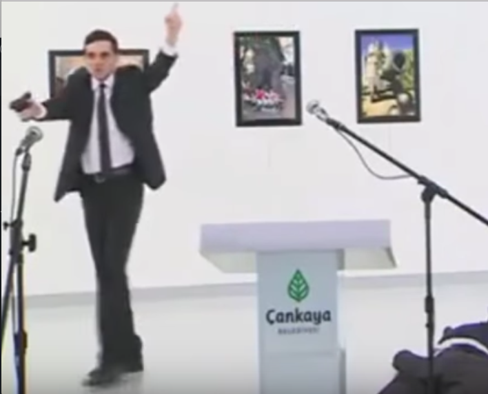 Radical Muslim Murders Russian Ambassador to Turkey