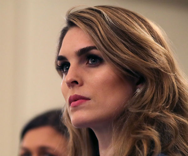 Close Trump Aide Hicks Declines to Answer Questions About Time in White House