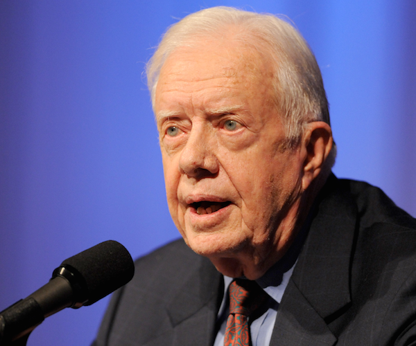 Carter Says He Supports Trump's Plan for Talks With Kim Jong Un