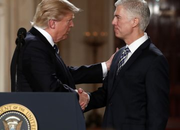WashPost: Trump Irked Justice Gorsuch Voted With Liberals