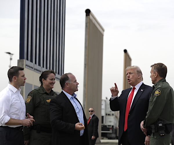 House Border Security Spending Bill Backed by White House