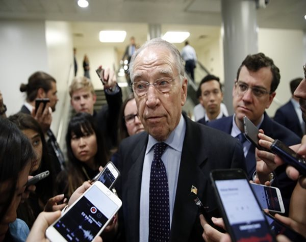 Grassley Says He Wants Trump's Tax Returns When House Gets Them