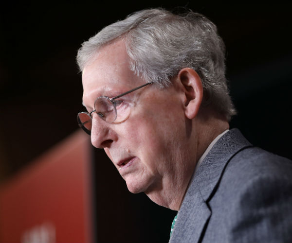 Sen. McConnell Weighs Altering President's Emergency Power