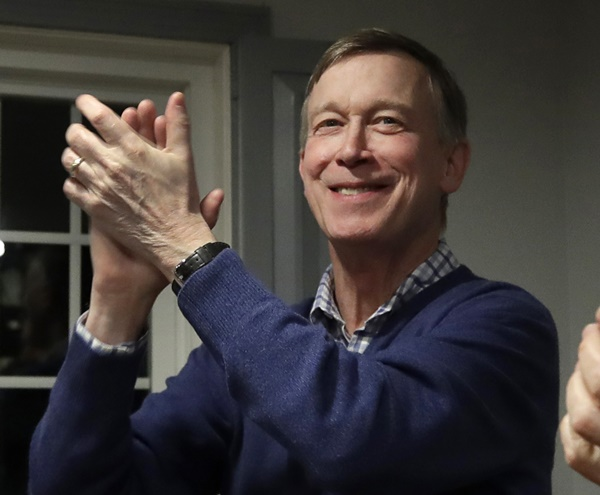 Hickenlooper's Comment About Female Candidates Draws Ire