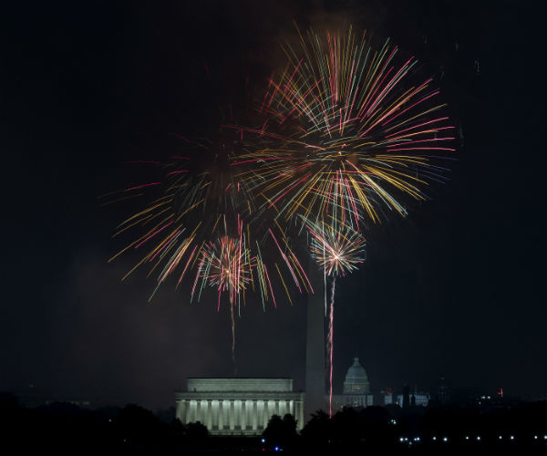 Report: Trump Moves July 4 Fireworks Display, May Speak