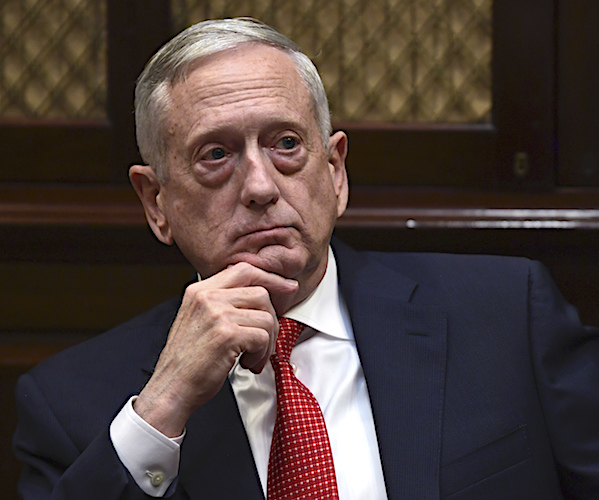 James Mattis: Russia Has 'Mucked Around' in US Elections