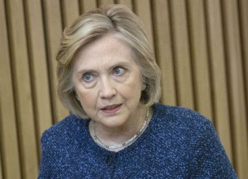Hillary Clinton: Trump a 'Corrupt Human Tornado,' Threat to U.S.