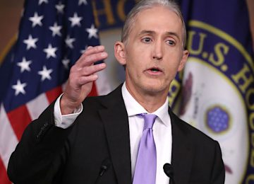 Former GOP Rep. Trey Gowdy to Help Trump in Impeachment Battle