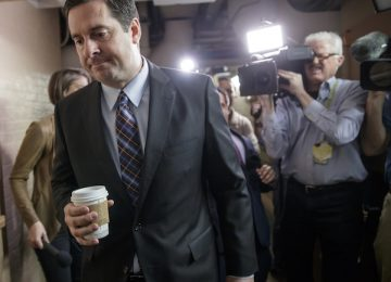 Nunes Aide Reportedly Leaking Whistleblower's Name
