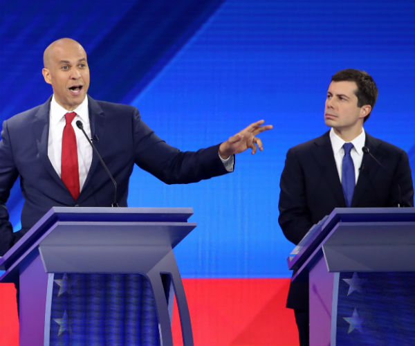 'No, Not That Guy': Booker Super Pac Ad Pokes Buttigieg, Praises Booker's Creds