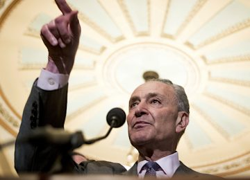 Schumer Renews Calls for WH Officials to Testify at Trial Following Times Report