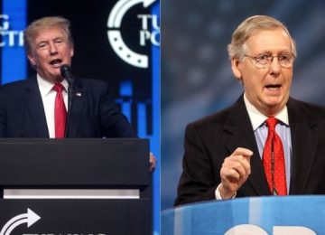 Trump Threatens Primary Challenges For Senate Republicans Who 'Caved' On Democrats' Trillion Dollar Infrastructure Bill